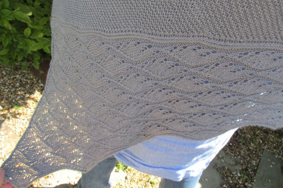 Test Knit Flapping Of Angels Wings Handspunhearts Blog